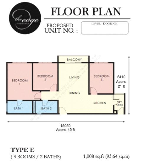 The Edge Residen Condominium Usj1 Subang Jaya New Launch