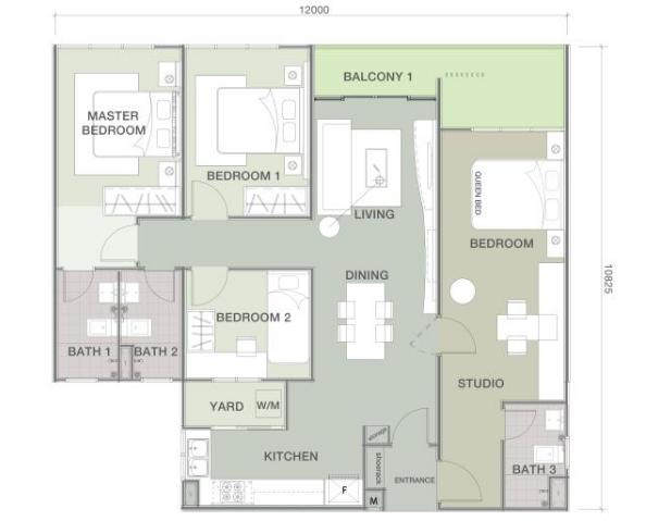 Lakefront-Residence-Diandra-Condominium-Cyberjaya-1292-sqf t