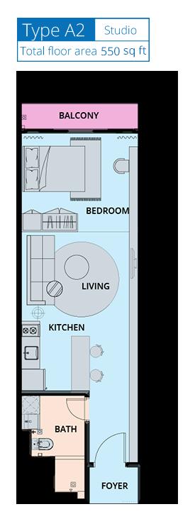 Biji-Living-Floor-Plan-550 sq.ft.