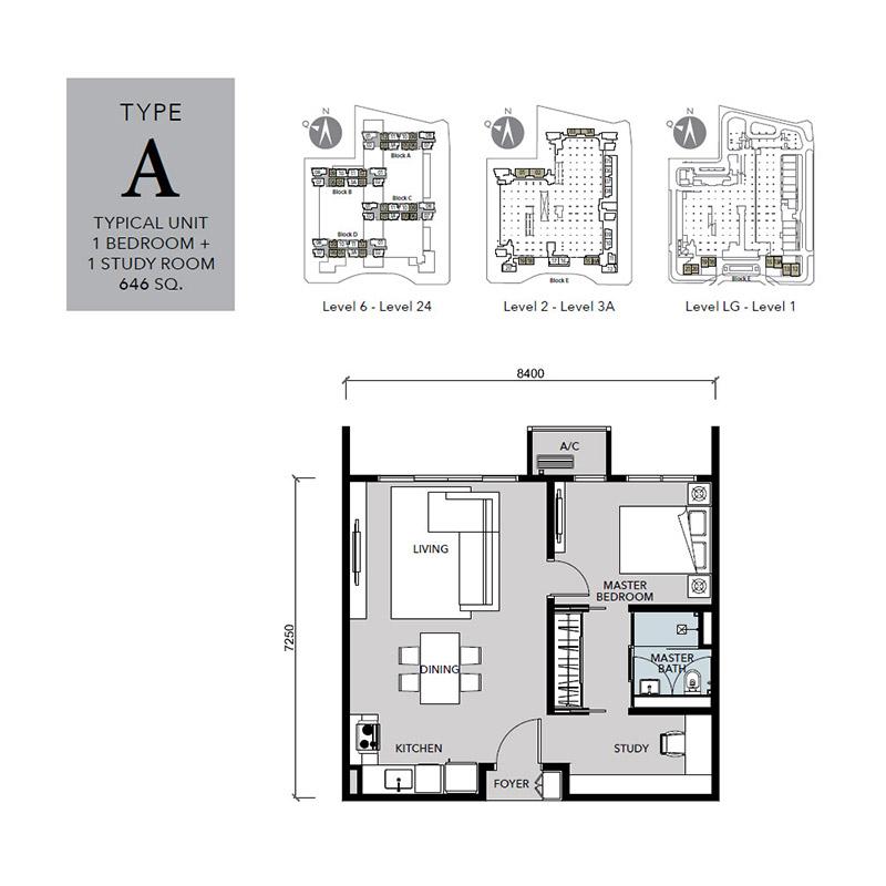 Floor-Plan-Cantara-Residences-Type-A-646 sq.ft.