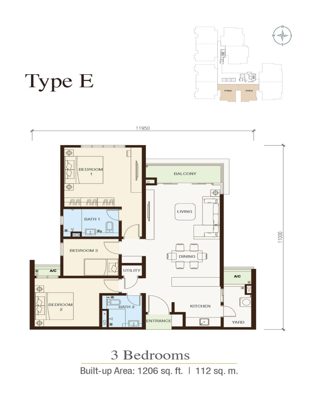 Floor-plan-Type-E-Irama-Wangsa
