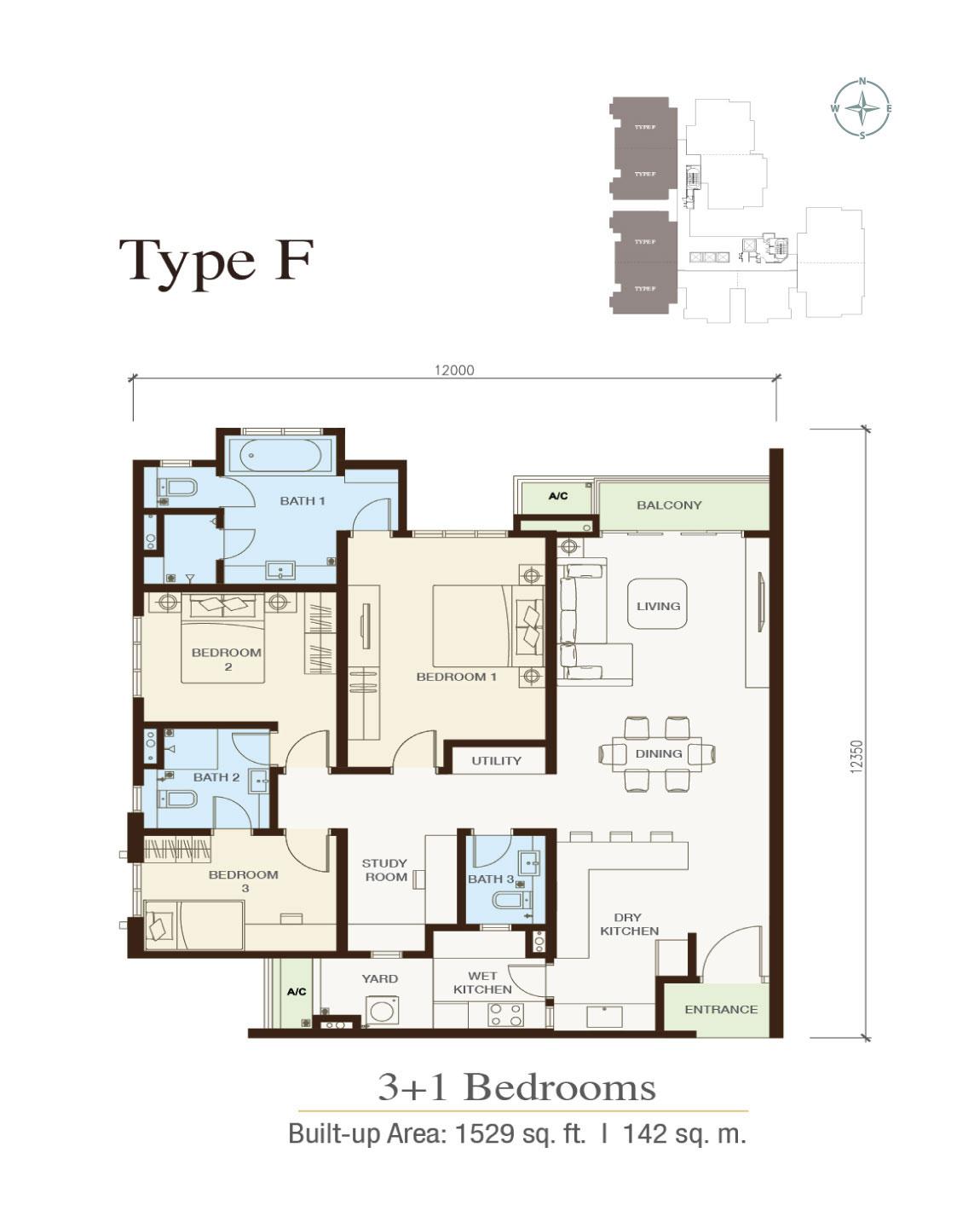 Floor-plan-Type-F-Irama-Wangsa