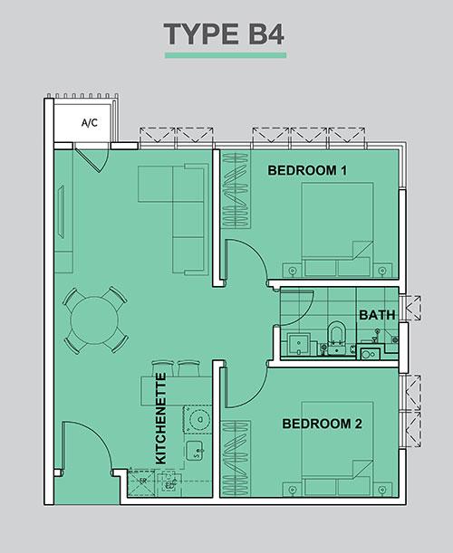 High-Park-Suites-603-sq.ft_.-Type-B4