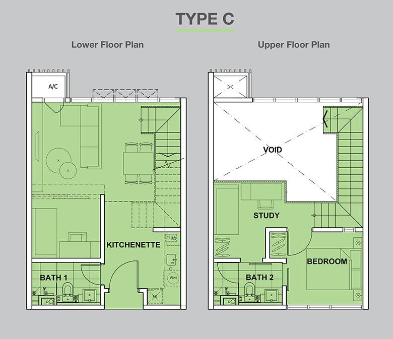 High-Park-Suites-Duplex-743-sq.ft_.-Type-C