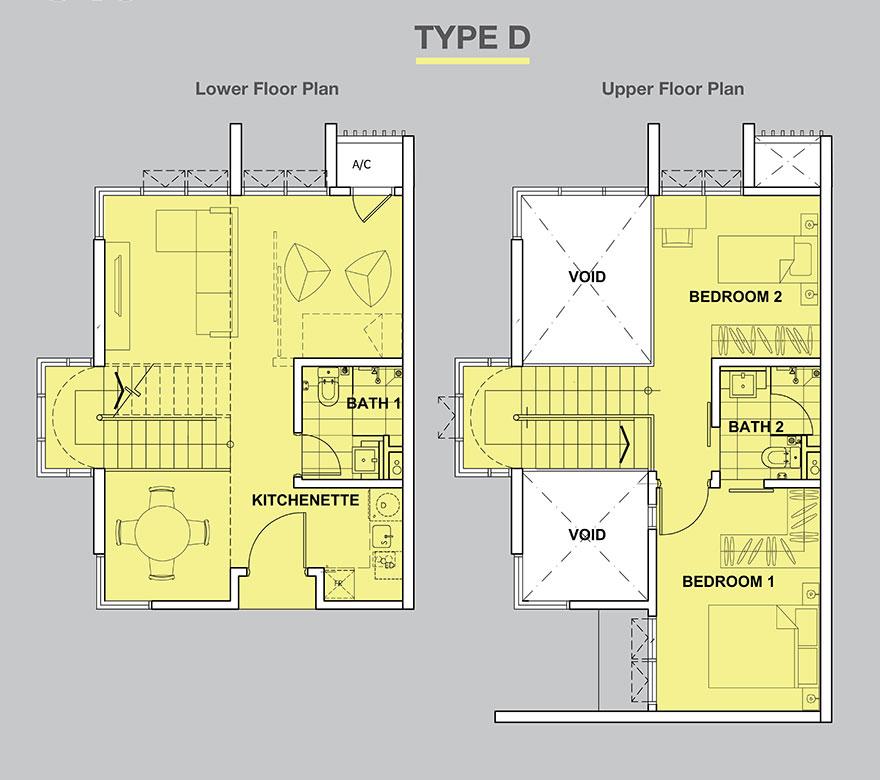 High-Park-Suites-Duplex-840-sq.ft_.-Type-D