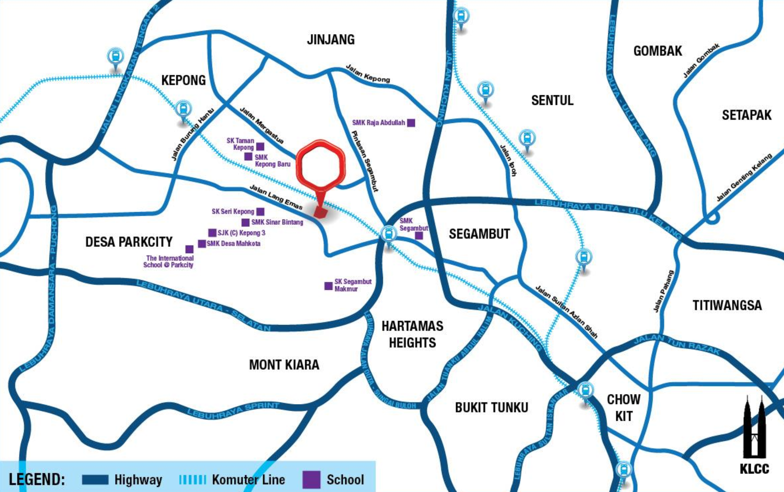 United-Point-Kepong-Location-Map