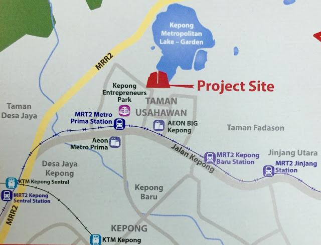 Mizumi-Residences-Kepong-Location-Map