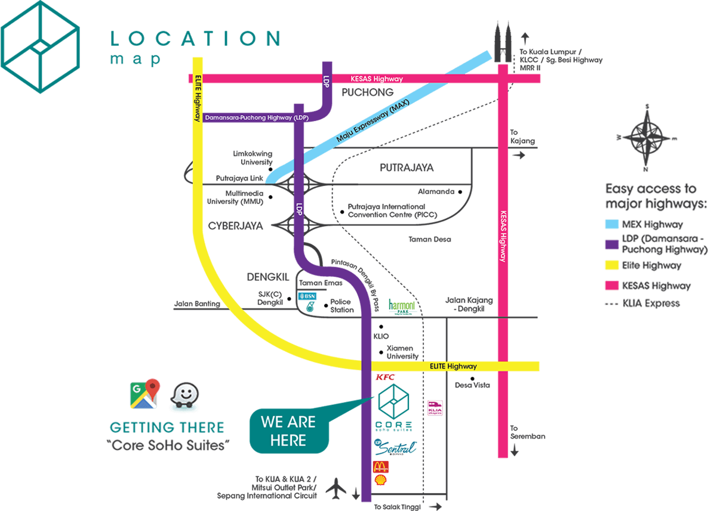 core-soho-suites-location-map-sepang