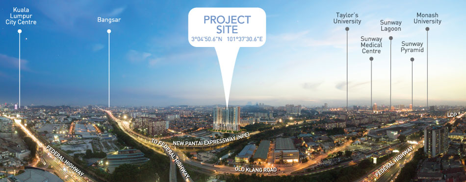 (PJS 5) Sky Terrace, Pre Launch